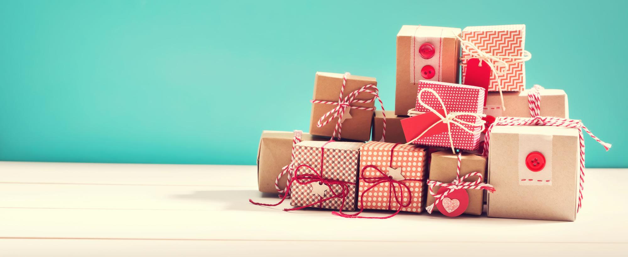 Geschenke für Alle!